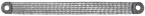 Tresse de masse 16mm² 300mm pour M6