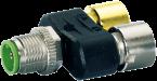 Connecteur T  M12 SlimLine Y