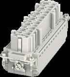 Modlink Heavy insert taille B24 femelle 24 pôles, Push-in, 500V, 16A