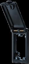MSDD Cadre simple métal noir
