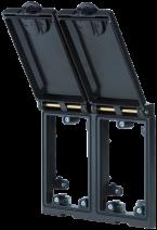 MSDD Cadre double métal noir