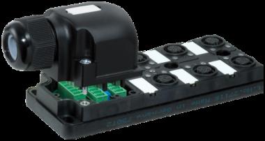 Répartiteur MVP12 6xM12, 5pôles, sans câble