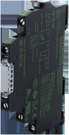 MIRO TH 24VDC mod. optoaccopp.5p mors. vite