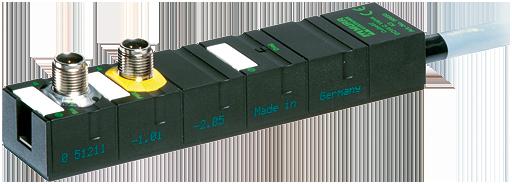 Cube67 Ventilanschaltung, Kompaktmodul