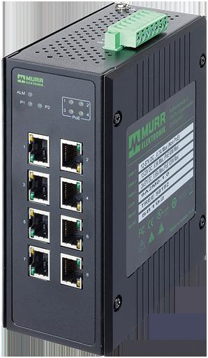 8 porte unmanaged Gigabit Switch 4 porte PoE IP20 metal