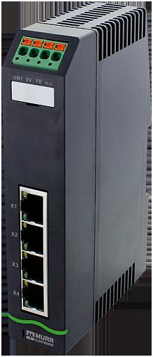 Xelity 4TX Unmanaged Switch 4 porte 100Mbit