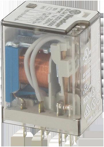 relè industriale 4W 24VDC + diodo