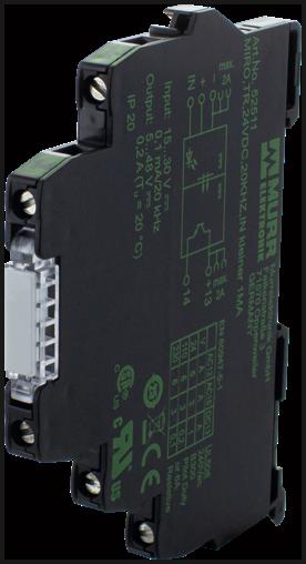 MIRO TR 24VDC 20KHZ IN<1MA mod. optoaccopp.