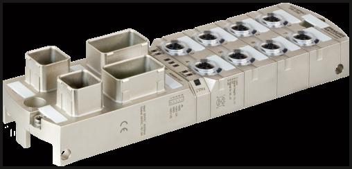 Module MVK+ MPNIO DI8 DI8 IRT Push Pull - Séparation galvanique