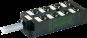 M12 distributore 8 vie, 5 poli senza LED