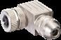 CONNECTEUR M12 COUDE- FEMELLE-BLINDE (4...6 mm)