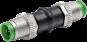 Adapter M12 St. / M12 St.