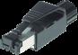 Connecteur pour Ethernet, mâle RJ45, CAT 5, à raccorder,